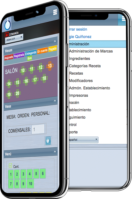 rest-Sys software para restaurantes